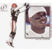 2001 Fleer Legacy Kevin Johnson Cleveland Browns Wr