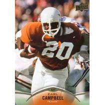 2015 Upper Deck Earl Campbell Texas Longhorns Rb