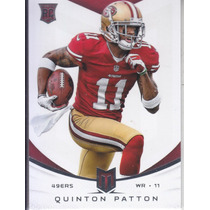 2013 Momentum Base Thick Rookie Quinton Patton Wr 49ers