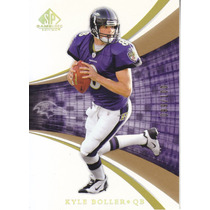 2004 Sp Game Used Edition Gold Kyle Boller Qb Ravens /100