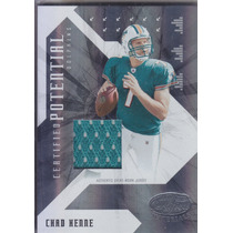 2008 Leaf Certified Potential Jersey Chad Henne Dolphin /250