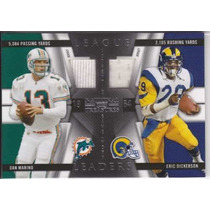 2009 Nt L Leaders 2x Jersey Dan Marino Erick Dickerson 98/99