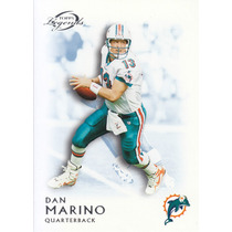 2011 Topps Legends Blue Thick Dan Marino Qb Dolphins