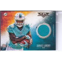 2014 Topps Fire Jersey Jarvis Landry Wr Dolphins