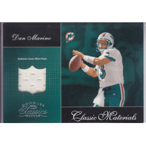 2003 Donruss Classics Pants Dan Marino Qb Dolphins 309/400