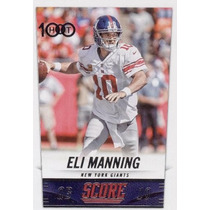 2014 Score H100 Eli Manning New York Giants