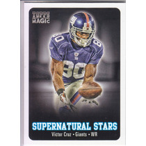 2012 Topps Magic Supernatural Stars Victor Cruz Wr Giants