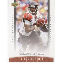 2006 Upper Deck Legends Michael Vick Atlanta Falcons
