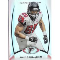 2012 Topps Platinum Base Tony Gonzalez Te Falcons