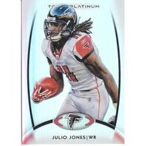 2012 Topps Platinum Base Julio Jones Wr Falcons