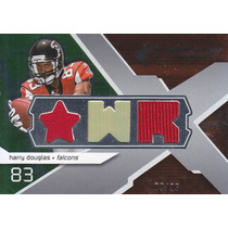 2008 Spx Rookie 2x Jersey Harry Douglas 9/25 Wr Falcons