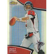 2011 Topps Finest Blue Refractor Matt Ryan 97/99 Qb Falcons