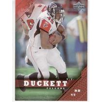 2005 Upper Deck T. J. Duckett Atlanta Falcons