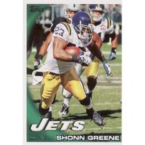 2010 Topps Shonn Greene New York Jets