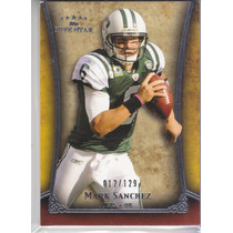 2011 Topps Five Star Extra Thick Mark Sanchez Qb Jets /129