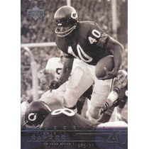 2001 Upper Deck Legends Gale Sayers Rb Bears