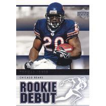 2005 Upper Deck Rookie Debut Thomas Jones Rb Bears