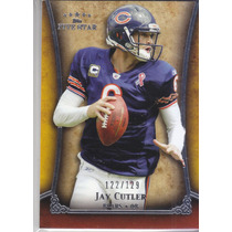 2011 Topps Five Star Extra Thick Jay Cutler Qb Bears /129
