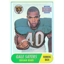 2001 Topps Archives Reserve Reprint Gale Sayers Rb Bears