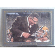 2008 Ud Masterpieces Framed Silver #86 Vince Lombardi/67