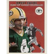 2000 Fleer Tradition Brett Favre Green Bay Packers