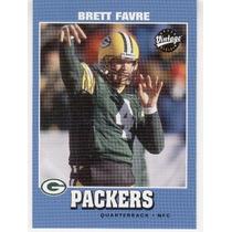 2001 Upper Deck Vintage Brett Favre Green Bay Packers