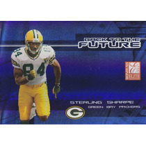 2005 Elite Bach To Future Blue Sterling Sharpe J Walker /500