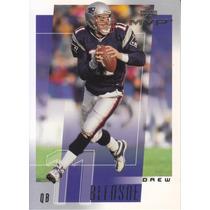2001 Ud Mvp Drew Bledsoe Qb Patriots
