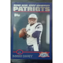 2005 Patriots Topps Super Bowl Champions #23 Rohan Davey