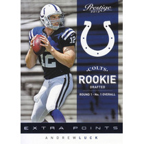 2012 Prestige Extra Point Blue Rookie Andrew Luck /999 Colts