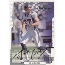2000 Upper Deck Mvp Silver Script Ed Mccafrey Denver Broncos