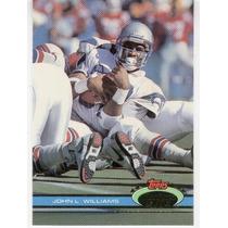 1991 Stadium Club John L. Williams Seattle Seahawks