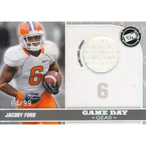 2010 Press Pass Silver Holo Jersey Jacoby Ford /99 Raiders