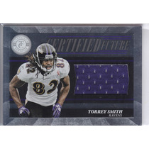 2011 Tc Future Rookie Jersey Torrey Smith 69/499 Wr Ravens