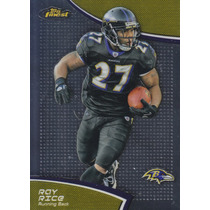 2011 Topps Finest Ray Rice Rb Ravens