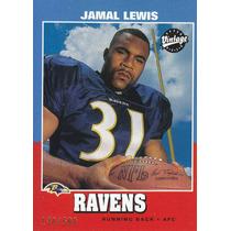 2000 Ud Vintage Previews Jamal Lewis Rb Ravens 140/500
