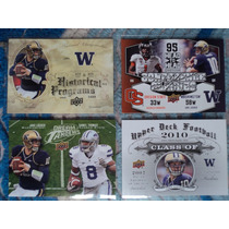 Nfl Fan Titans 4tarjetas Qb Jacke Locker Nueva No Repetidas