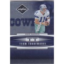 2006 Leaf Limited Team Trademarks Drew Bledsoe Cowboys 1/100