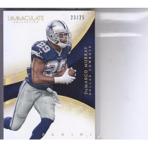 2014 Immaculate Gold Demarco Murray Rb Cowboys /25