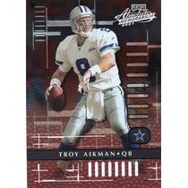 2001 Absolute Memorabilia Troy Aikman Dallas Cowboys Qb