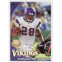 2010 Topps All Pro Adrian Peterson Minnesota Vikings
