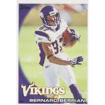 2010 Topps Bernard Berrian Minnesota Vikings
