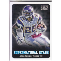2012 Topps Magic Supernatural Stars Adrian Peterson Vikings