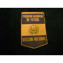 Federacion Salvadoreña De Futbol Banderin De Futbol Soccer