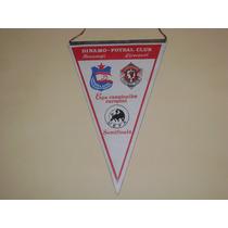 Banderin Semifinal Champions League 1984 Liverpool Vs Dinamo