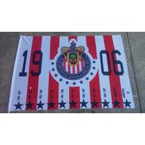 Bandera Oficial De Los 11 Campeonatos De Las Chivas