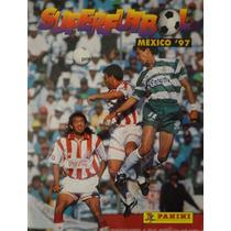 Álbum Super Futbol 1997 Liga Mexicana100% Lleno Edit Panini