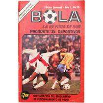 Bola # 13 Revista De Sus Pronosticos Deportivos 1978 Hm4