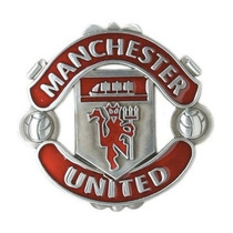 Fina Hebilla Cinto Cinturón Manchester United Red Devils