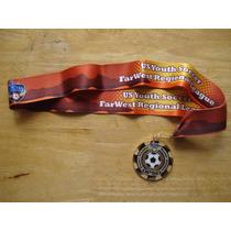 Medalla Farwestregional League Us Youth Soccer Nueva